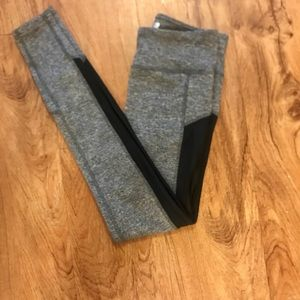 Like new Forever21 side mesh leggings